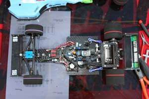 Le prototype Formule 1 1/10° électrique RC Downforce Falcon F1.