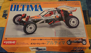 Technique: Montage du Kyosho Ultima re-released.